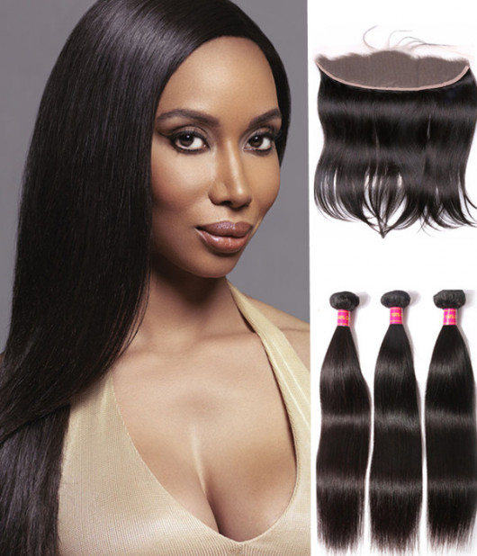 Lace frontal closure hair